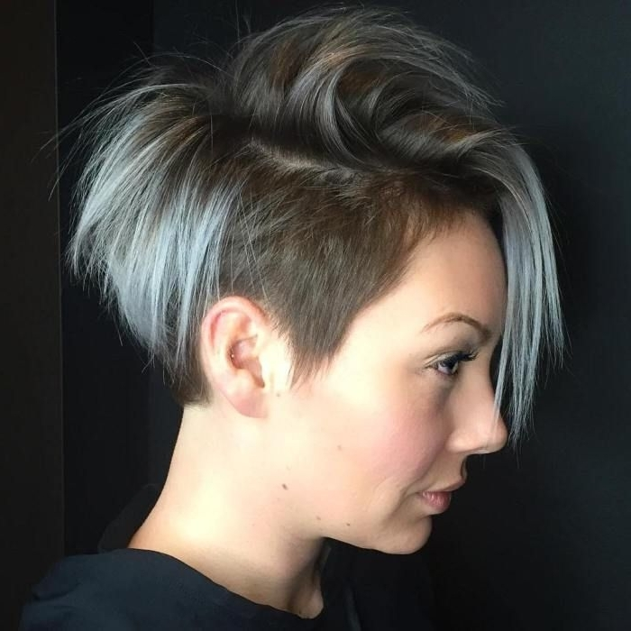 20 Inspiring Pixie Undercut Hairstyles | Haircuts | Pinterest Inside Most Current Pixie Bob Hairstyles With Temple Undercut (View 3 of 25)