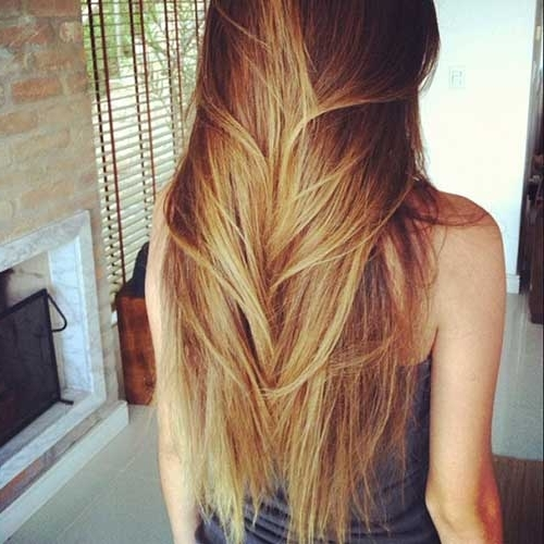 20 Layered Haircuts For Women | Hairstyles & Haircuts 2016 – 2017 Within Brown Blonde Layers Hairstyles (View 11 of 25)