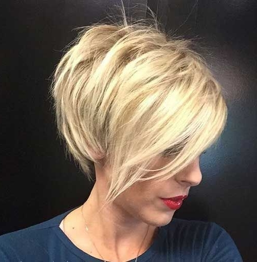 20 Longer Pixie Cuts We Love | Short Hair | Pinterest | Long Pixie Regarding Latest Blonde Pixie Hairstyles With Short Angled Layers (View 2 of 25)