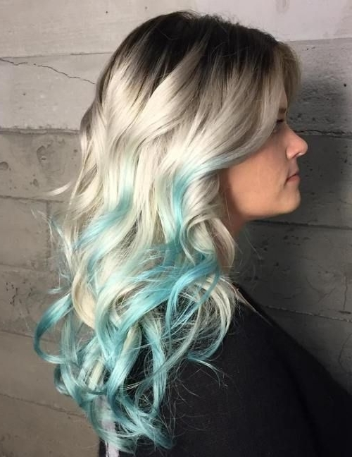 20 Mint Green Hairstyles That Are Totally Amazing | Beauty with regard to Blonde Hairstyles With Green Highlights