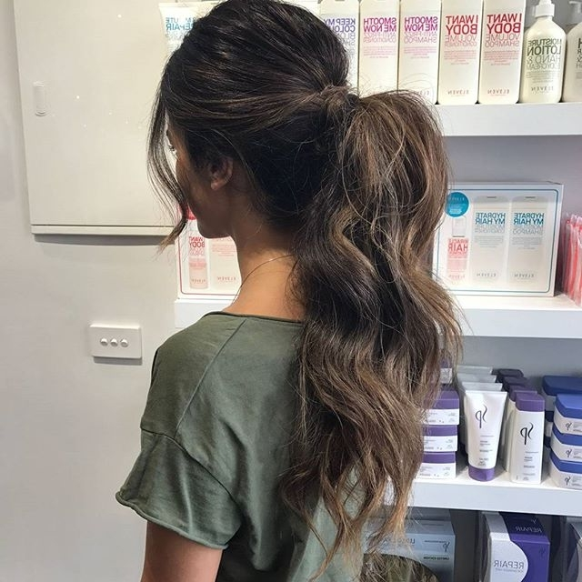 20 Most Easy Messy Ponytail Hairstyles In Messy Ponytail Hairstyles (View 21 of 25)