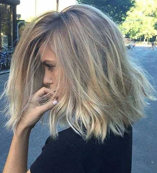 20+ New Messy Bob Hairstyles   Bob Hairstyles 2018 – Short Throughout Messy Blonde Lob Hairstyles (View 17 of 25)