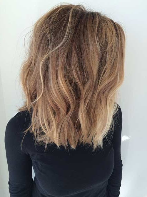 20 New Wavy Hairstyles For Short Hair | Short Hairstyles 2017 – 2018 Throughout Blonde Ombre Waves Hairstyles (View 3 of 25)