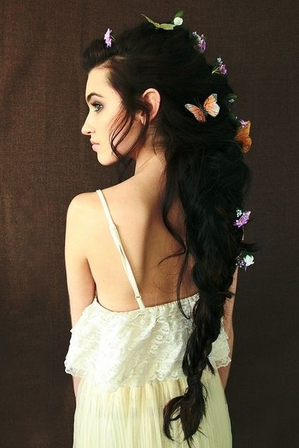 20 Ponytail Hairstyles: Discover Latest Ponytail Ideas Now Regarding Long Messy Pony With Braid (View 23 of 25)