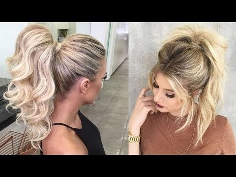 20 Ponytail Hairstyles For 2018 – Best Ideas For Ponytails Haircuts For Ponytail Hairstyles For Layered Hair (View 10 of 25)