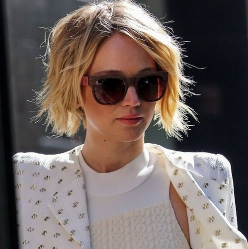 20 Popular Messy Bob Haircuts We Love – Popular Haircuts Intended For Dirty Blonde Bob Hairstyles (View 6 of 25)