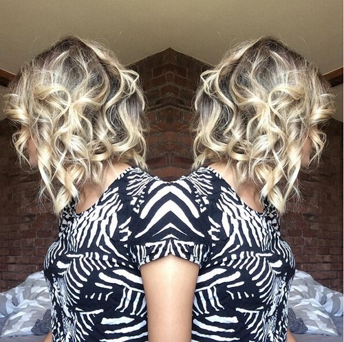 20 Popular Messy Bob Haircuts We Love – Popular Haircuts With Regard To Curly Highlighted Blonde Bob Hairstyles (View 5 of 25)