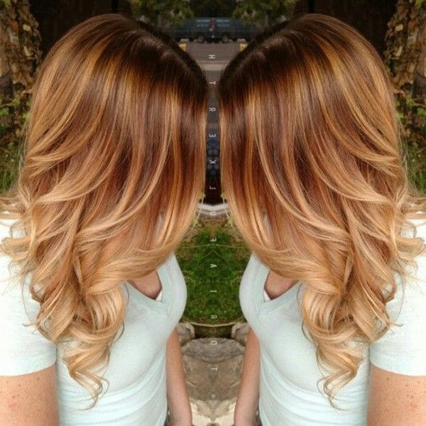 20 Shades Of Copper, Wonderful Pumpkin Spice Hair For This Season With Regard To Light Copper Hairstyles With Blonde Babylights (View 3 of 25)