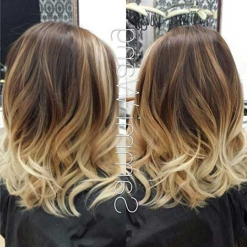 20 Short Blonde Ombre Hair | Short Hairstyles 2017 – 2018 | Most Within Blonde Ombre Waves Hairstyles (View 9 of 25)