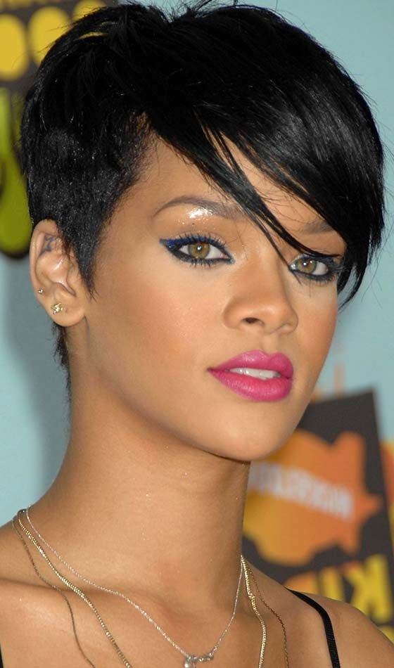 20 Short Choppy Hairstyles To Try Out Today With Most Recent Choppy Asymmetrical Black Pixie Hairstyles (View 3 of 25)