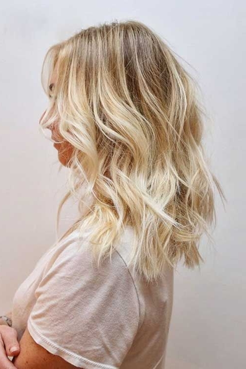 20 Short Hairstyles For Wavy Hair | Gorgeous Hair | Pinterest Throughout Tortoiseshell Curls Blonde Hairstyles (View 9 of 25)