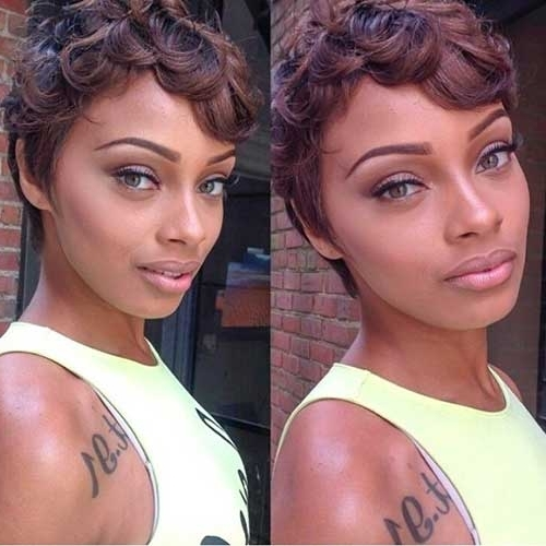 20 Short Pixie Haircuts For Black Women | Short Hairstyles 2017 Throughout Most Recent Short Black Pixie Hairstyles For Curly Hair (View 8 of 25)