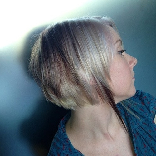 20 Short Stacked Bob Hairstyles That Look Great On Everyone – Pretty With Regard To Silver Bettie Blonde Hairstyles (View 23 of 25)