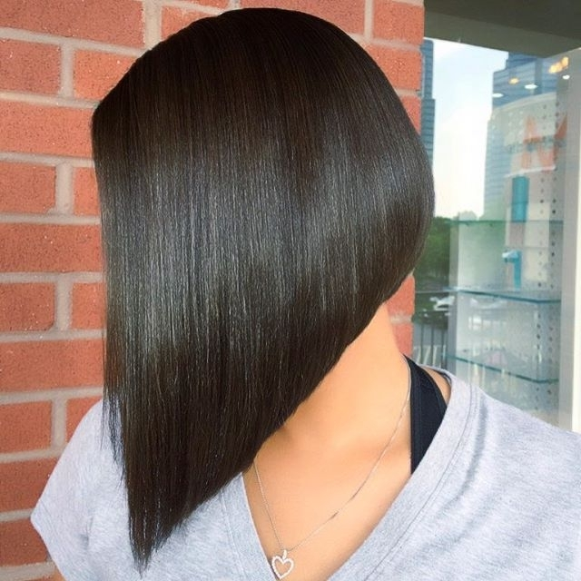 20 Spectacular Angled Bob Hairstyles – Pretty Designs Pertaining To Steeply Angled A Line Lob Blonde Hairstyles (View 18 of 25)