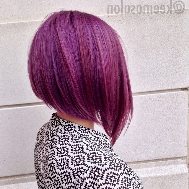 20 Spectacular Angled Bob Hairstyles – Pretty Designs Throughout Steeply Angled A Line Lob Blonde Hairstyles (View 17 of 25)