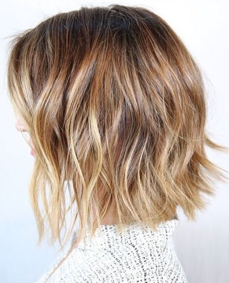 20 Starry Blonde Bobs For Women In Bronde Bob With Highlighted Bangs (View 8 of 25)