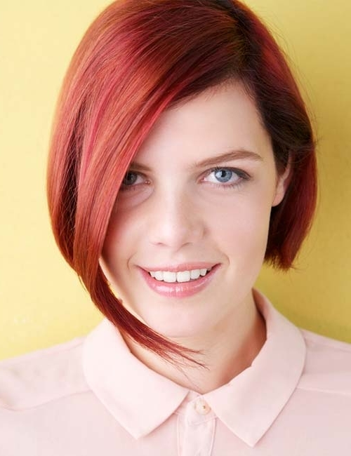 20 Stunning Short Hairstyles For Round Faces With Regard To Most Recently Asymmetrical Long Pixie Hairstyles For Round Faces (View 16 of 25)