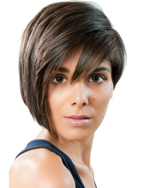 20 Stunning Short Hairstyles For Round Faces Within Most Current Asymmetrical Long Pixie Hairstyles For Round Faces (View 19 of 25)