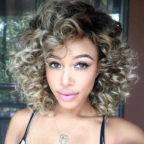 20 Stylish Designs To Have Silver And White Hair: Women Hair Color 2017 With Regard To White Blonde Curls Hairstyles (View 10 of 25)