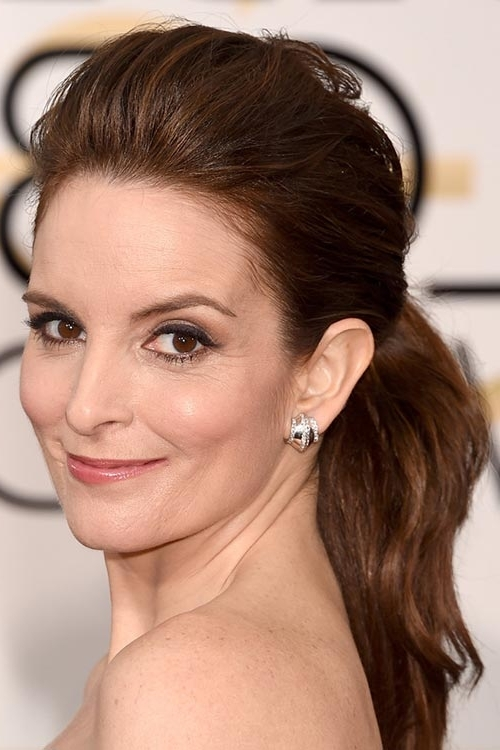 20 Stylish Hairstyles Celebs Urge Us To Wear In 2015 | Fashionisers For Pompadour Pony Hairstyles (View 16 of 25)
