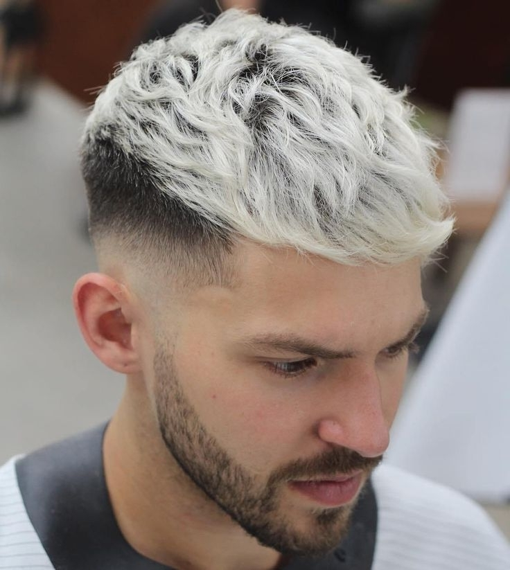 20 Stylish Men's Hipster Haircuts In 2018 | Hair | Pinterest | Ash In Long Top Undercut Blonde Hairstyles (View 4 of 25)