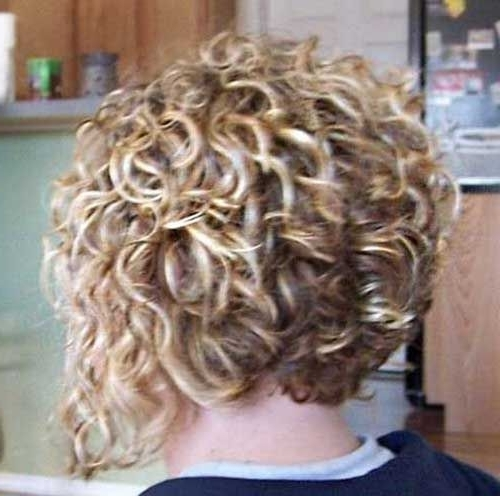 20 Super Curly Short Bob Hairstyles | Bob Hairstyles 2015 – Short Within Curly Angled Blonde Bob Hairstyles (View 11 of 25)