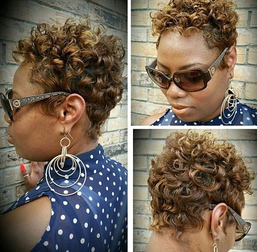 20 Trendy African American Pixie Cuts 2017 – Pixie Cuts For Black Women For Most Up To Date Long Honey Blonde And Black Pixie Hairstyles (View 10 of 25)