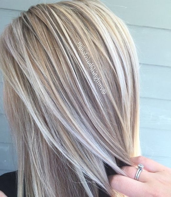 20 Trendy Hair Color Ideas For Women – 2017: Platinum Blonde Hair Ideas In Pale Blonde Balayage Hairstyles (View 14 of 25)