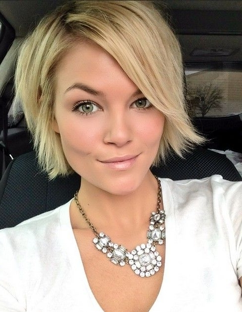 20 Trendy Short Hairstyles: Spring And Summer Haircut | Pinterest With Regard To Trendy Angled Blonde Haircuts (View 19 of 25)