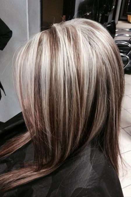 20 Types Of Platinum Blonde And White Hair Regarding Thin Platinum Highlights Blonde Hairstyles (View 20 of 25)