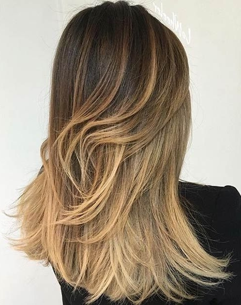2016 #hairstyle #fashion #women #mode #model #girl #beauty Throughout Dark Roots Blonde Hairstyles With Honey Highlights (View 2 of 25)