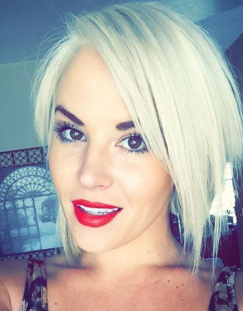 21 Adorable Asymmetrical Bob Hairstyles For 2016 | Gorgeous Hair Intended For Platinum Asymmetrical Blonde Hairstyles (View 3 of 25)