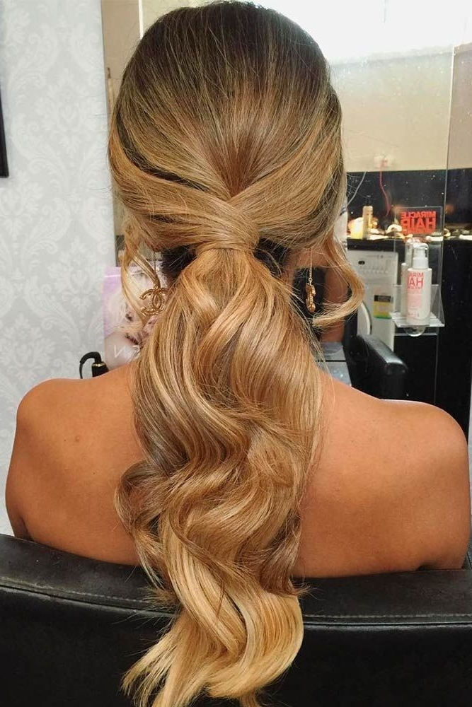 21 Best Ideas Of Formal Hairstyles For Long Hair 2018 | ???????? For Wrapped Up Ponytail Hairstyles (View 6 of 25)