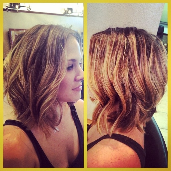 21 Chic Medium Bob Hairstyles For Women – Mob Haircuts – Pretty Designs With Regard To Steeply Angled A Line Lob Blonde Hairstyles (View 23 of 25)