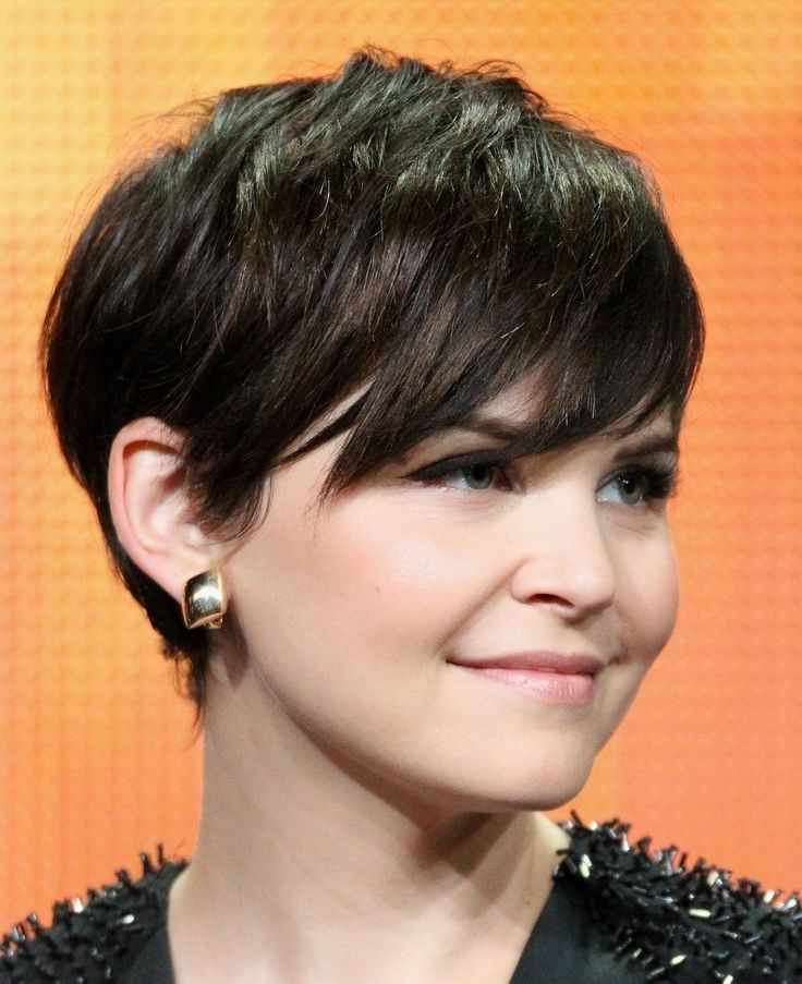 21 Flattering Pixie Haircuts For Round Faces – Pretty Designs With 2018 Asymmetrical Long Pixie Hairstyles For Round Faces (View 7 of 25)