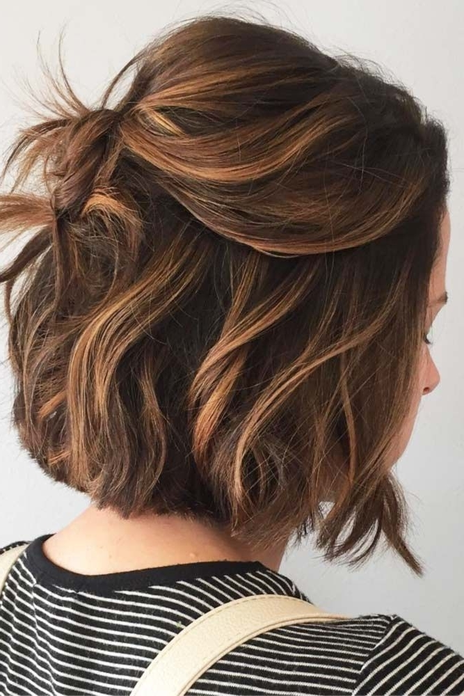 21 Great Ways To Wear Cute Short Hair | Hair Color, Cuts & Styles Regarding Loosely Coiled Tortoiseshell Blonde Hairstyles (View 9 of 25)