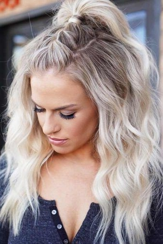21 Miraculous Ideas For Half Ponytail Upgrade | Hair Curls In Formal Half Ponytail Hairstyles (View 4 of 25)