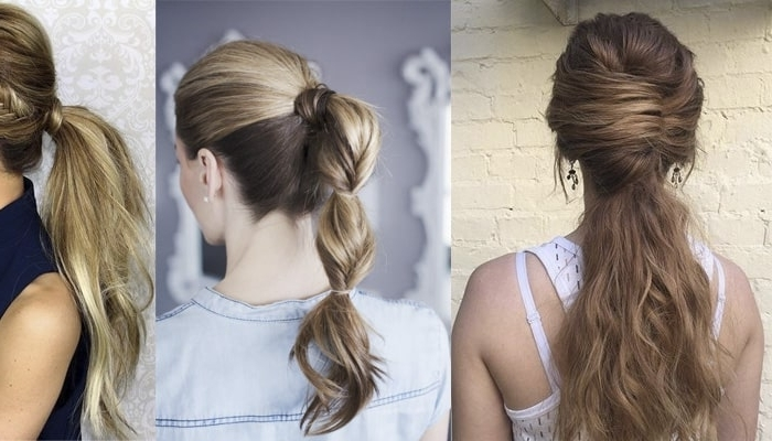 21 Perfect Ponytail Hairstyles For Girls For Any Event (New Styles With Regard To Braided And Knotted Ponytail Hairstyles (View 9 of 25)