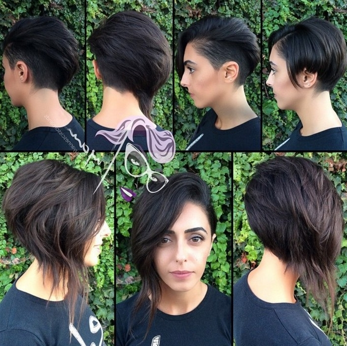 21 Stunning Long Pixie Cuts – Short Haircut Ideas For 2018 For Best And Newest Choppy Asymmetrical Black Pixie Hairstyles (View 9 of 25)