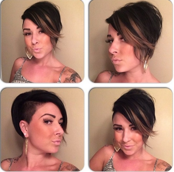 21 Stunning Long Pixie Cuts – Short Haircut Ideas For 2018 Pertaining To Most Popular Stacked Pixie Bob Hairstyles With Long Bangs (View 14 of 25)