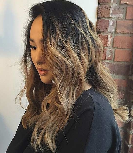 21 Stunning Summer Hair Color Ideas | Page 2 Of 2 | Stayglam Throughout Beige Balayage For Light Brown Hair (View 2 of 25)