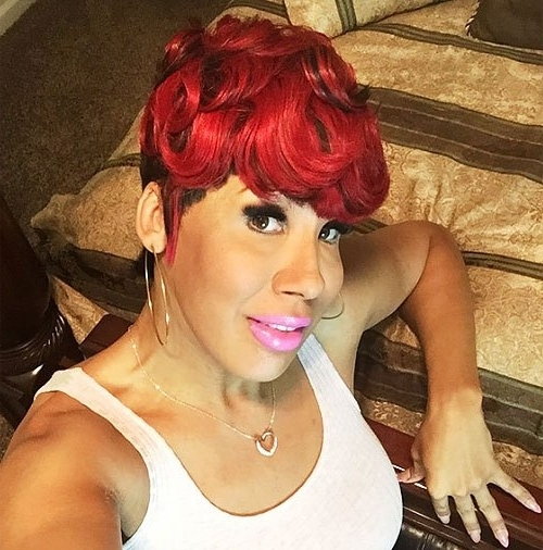 21 Trendy Short Haircuts For African American Women – Hairstyles Weekly Throughout Most Recently Ravishing Red Pixie Hairstyles (View 7 of 25)