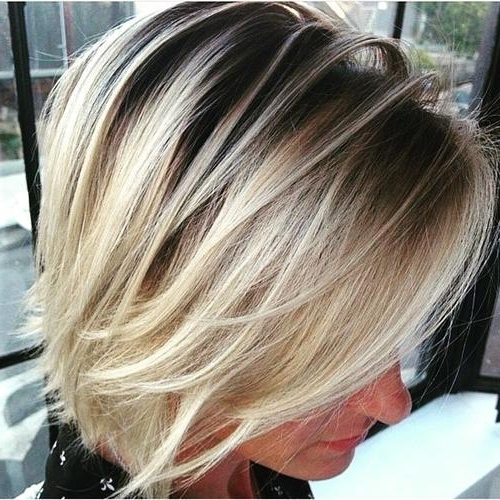 22 Amazing Bob Hairstyles For Women (Medium & Short Hair) | Styles Intended For Long Blonde Bob Hairstyles In Silver White (View 13 of 25)