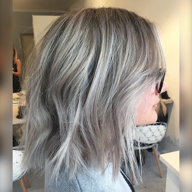 22 Amazing Layered Bob Hairstyles For 2018 You Should Not Miss For Short Silver Blonde Bob Hairstyles (View 7 of 25)