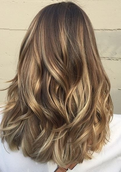 22 Best Hairstyles For Thick Hair – Sleek, Frizz Free & Contemporary Pertaining To Blonde And Brunette Hairstyles (View 3 of 25)