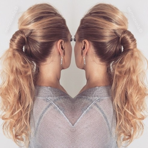 22 Cute Ponytails For Long & Medium Length Hair – Straight, Messy With Regard To Princess Ponytail Hairstyles (View 10 of 25)