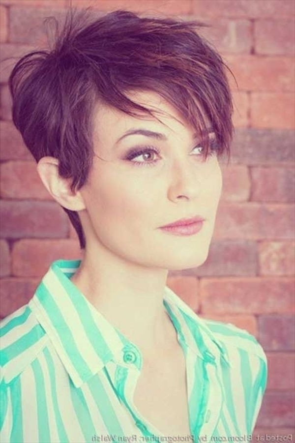 22 Great Short Haircuts For Thin Hair 2015 – Pretty Designs Intended For Current Imperfect Pixie Hairstyles (View 4 of 25)