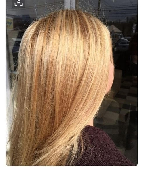 22 Greatest Blonde Hair Colors In 2018: Honey, Dirty, Ash & Platinum In Buttery Blonde Hairstyles (View 1 of 25)