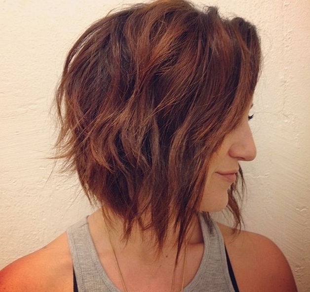 22 Hottest Graduated Bob Hairstyles Right Now – Hairstyles Weekly Regarding Ash Blonde Lob With Subtle Waves (View 5 of 25)