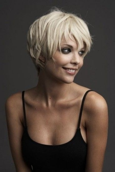 22 Popular Short Hairstyles For Women – Pretty Designs With Regard To Most Recent Soft Pixie Bob Haircuts For Fine Hair (View 13 of 25)
